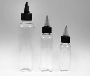 Empty Ink Bottles