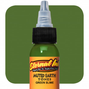 Eternal Ink - Muted Earth Tones - Green Slime - 30 ml / 1 oz