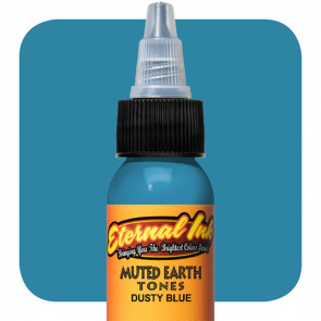 Eternal Ink - Muted Earth Tones - Dusty Blue - 30 ml / 1 oz