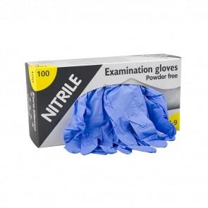 Eurogloves - Extra Long Nitrile Gloves - Blue