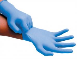 CMT - Gants en Nitrile - Medium - Bleu - Boîte de 100
