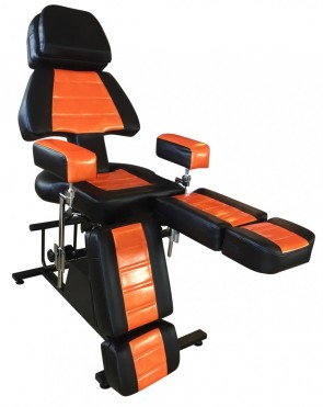 Professional Client Chair - Lamborghini Orange