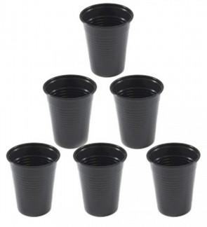 Unigloves - Black Line - Gobelets en Plastique - Pack de 100