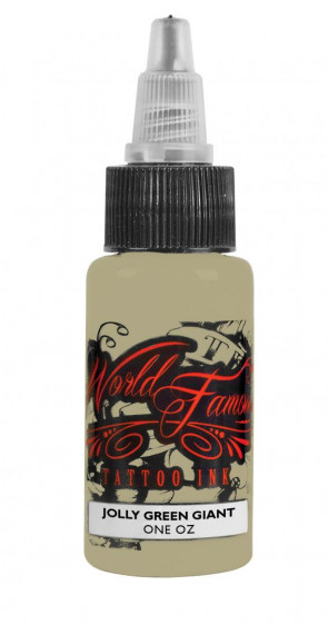 World Famous Ink - Jolly Green Giant - 15 ml / 0.5 oz - EXP: 04-2021