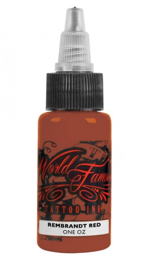World Famous Ink - Rembrandt Red - 30 ml / 1 oz - EXP: 24-09-2020