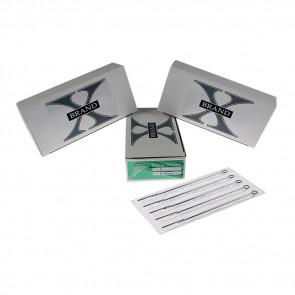 X-Brand - Aiguilles - Round Shaders - Boîte de 50