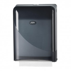 Z-Fold Paper Dispenser - Black