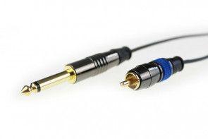 Crystal Coax Cable - RCA - Black