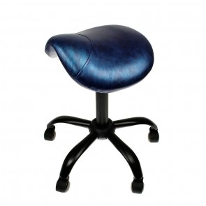 Professional - Saddle Stool - Ink Blue