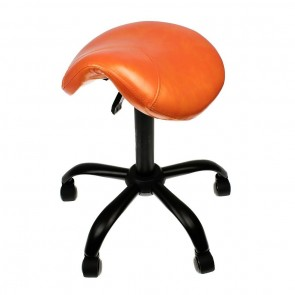 Professional - Saddle Stool - Lamborghini Orange