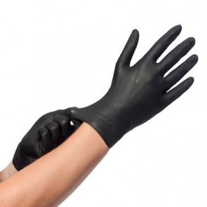 Comforties - Easyglide - Nitrile Gloves - Black