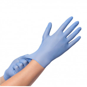 Comforties - Premium - Nitrile Gloves - Violet Blue
