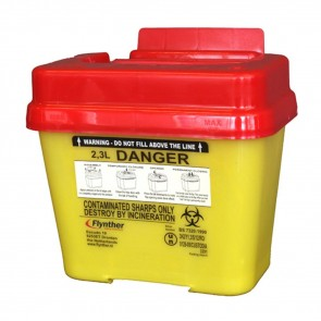 Flynther Needle Container - 2.3 liter