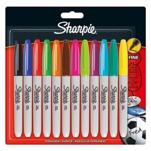 Sharpie - Fine Point Rainbow Set - Pack of 12