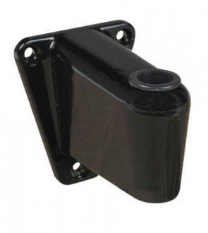 Wall Bracket For Magnifying And Work Lamp - Black