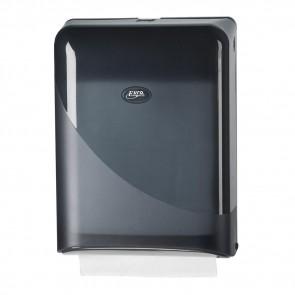 Z-Fold Paper Dispenser - Black